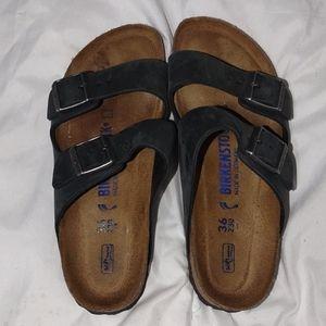 Birkenstock blue women's size 5-5.5 sandals